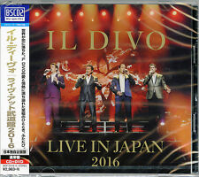 IL DIVO-LIVE IN JAPAN 2016-JAPAN BLU-SPEC CD2+DVD G78