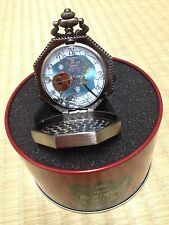 The NIGHTMARE BEFORE CHRISTMAS jack skellington quartz pocket watch