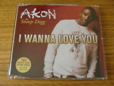 CD Single: Akon : I Wanna Love You  :  Featuring Snoop Dogg