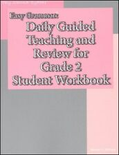 Easy Grammar - Daily Guided Teaching & Review for Grade 2 Student Workbook