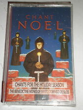 Benedictine Monks CASSETTE Chant Noel SEALED