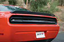 08-14 Dodge Challenger RT GTS Acrylic Taillight Center Panel Covers Smoke 3pc