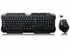 NEU: Sandberg Wireless Tastatur Mouse Keyboard Budget Gamer Set, QWERTY, 630-10