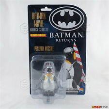 Batman Returns Kubrick series 1 Missile Penguin carded figure by Medicom Toys