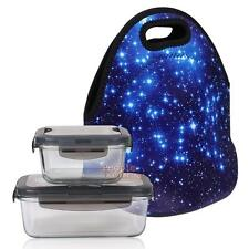 Portable Insulated Lunch Bag Thermal Box Tote Waterproof Food Storage Container