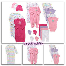 21 Piece Newborn Baby Girl Clothes Set 3-6 Months Outfit Infant Shower Gift Lot