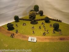 28 x US Army WW2 Wargames Miniatures Painted 1:72 20mm #81