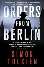 Orders from Berlin (Inspector Trave) Tolkien, Simon Hardcover