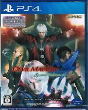 NEW PS4 Devil May Cry 4 Special Edition DMC w/ Bonus Costume & Red Orb DLC JAPAN