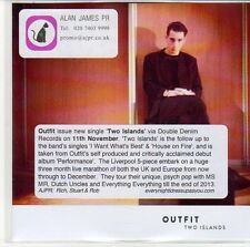 (EQ351) Outfit, Two Islands - 2013 DJ CD