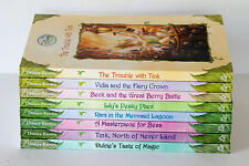 Lot of 8 DISNEY FAIRIES TALES OF PIXIE HOLLOW Series Matched Set Chapter Books