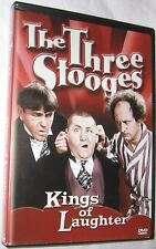 The Three Stooges Kings of Laughter DVD 2001 Comedy Television FREE SHIPPING USA