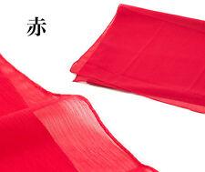 Japanese Kimono Obi  HEKO OBI  RED NEW