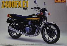 Kawasaki Z400 FX E1 1979 Bausatz von Aoshima 1:12