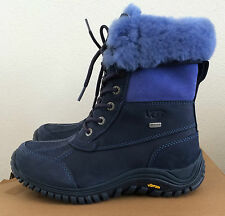 Womens Size 9.5 Navy UGG Adirondack Boots II Warm Winter Water Resistant 1001785