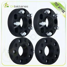 "4X 1.5"" 5lug 5x5 Wheel Spacers Hub Centric Adapters For Jeep Wrangler JK"