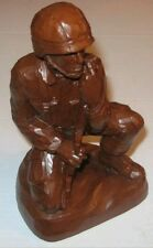 Soldier Statue mold made of latex and fiberglass backer