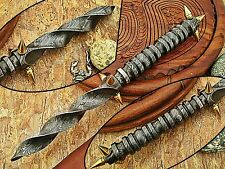 Viggo Mortensen MADE FULL DAMASCUS KRIS BLADE DAGGER KNIFE-SD- M-7786