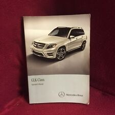 2013 Mercedes GLK OEM Owners Manual