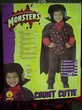 NEW WITH TAG MONSTERs Costume Boy's Toddler Sz 2-4 For 1-2 Years