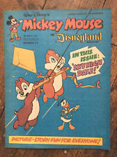 WALT DISNEY'S MICKEY MOUSE IN DISNEYLAND COMIC 5 MARCH 1977. NR MINT. (1