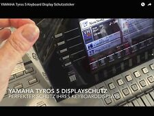 YAMAHA Tyros 5 Keyboard Schutz für Volumen SA Button Modulation,Pitch u. Display