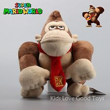 Super Mario Bros. Donkey Kong Plush Toy Monkey Nintendo Stuffed Doll 9'' Teddy