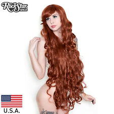 RockStar Wigs®Extra Long Curly Bangs Godiva Auburn Mix Wig Lolita Cosplay- 00178