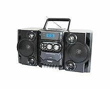 NAXA MP3/CD Player AM/FM Radio Cassette Player/Recorder Speakers NPB-428