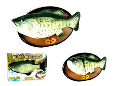 New Big Mouth Billy Bass, motion activated singing wall plack, classic toy