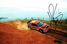 Henning SOLBERG SIGNED World Rally Car AUTOGRAPH 12x8 Ford Photo AFTAL COA