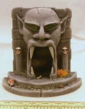 Painted demonic head door 28mm Fantasy, historical and science fiction scenery