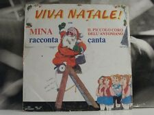 MINA / PICCOLO CORO ANTONIANO - VIVA NATALE ! - LP FAIR COVER GOOD-