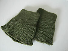 PARA CUFFS IN OLIVE GREEN - MILITARY PARA SMOCK CUFFS - 1 PAIR  BRITISH ARMY