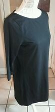 Redherring lovely Flattering black Long Sleeve casual smart dress size 12 BNWT