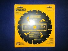 "DEWALT DW3174 7-1/4"" 20 TOOTH CARBIDE WET LUMBER CIRCULAR SAW BLADE NEW"