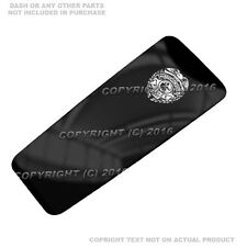 Console Dash Skin For Harley Touring 08-17  -  POLICE BADGE BW - 105