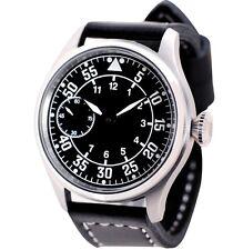 Pilot Navigator mechanical watch 47 mm ss case 6497 Seagull movement.