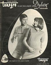 Publicité Advertising 1966  Tricots Tanagra laine Dylan pret à porter vetement
