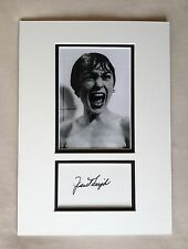 Hand Signed 14x10 JANET LEIGH - PHYSCO + COA