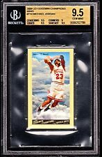 2009 UD GOODWIN CHAMPIONS MINI'S #114 MICHAEL JORDAN *BGS GEM MINT 9.5 *POP=8.