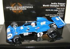 Jackie Stewart Minichamps 1:43 Tyrrell Ford 006 1973 World Champions Collection
