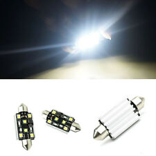 Canbus Error Free 2-CREE 4-LED 42MM Festoon Dome License Plate Light Bulbs 1PC