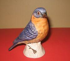 Vintage Goebel Porcelain Robin Bird Figurine #38575 West Germany 1975