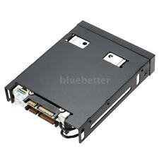 "Dual Bay 2.5"" SATAIII Hard Disk Drive HDD&SSD Hard Drive Enclosure Hot Swap B3J3"