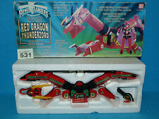 POWER RANGERS RED DRAGON THUNDERZORD BOXED ALL PARTS 531