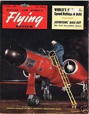 RAF FLYING REVIEW JAN 56 FACSIMILE: LUFTWAFFE RE-BIRTH/ MILES 100/ CF100 C'AWAY