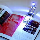 Bright clip on LED Book Light reading Booklight lamp bulb For Kindle FT
