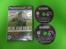 Ps2 juego * Metal Gear Solid 3-subsistence * Big Box + bonus/PlayStation 2