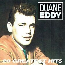 (CD) Duane Eddy - 20 Greatest Hits - Rebel Rouser,  Because They Are Young